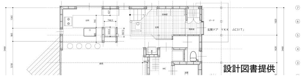 薪ストーブのある30坪の家設計図